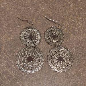 Cookie Lee Silver Earrings